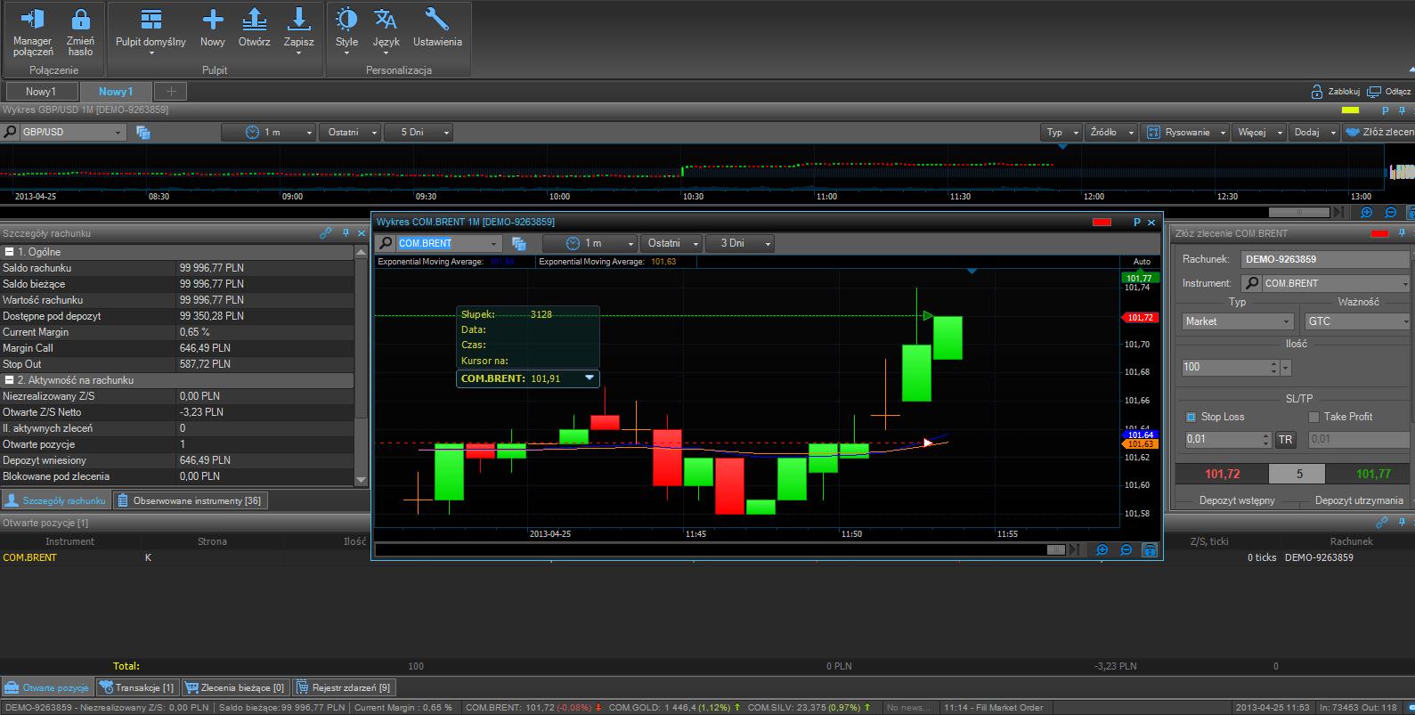 Ebs forex trading platform