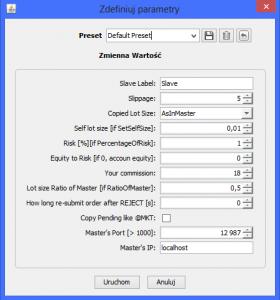 Jforex trailing stop strategy