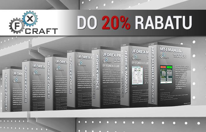 Rabaty na narzędzia i usługi FxCraft