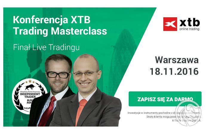 Konferencja Trading Masterclass - Warszawa, Poznań