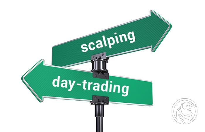 Day-trading a Scalping
