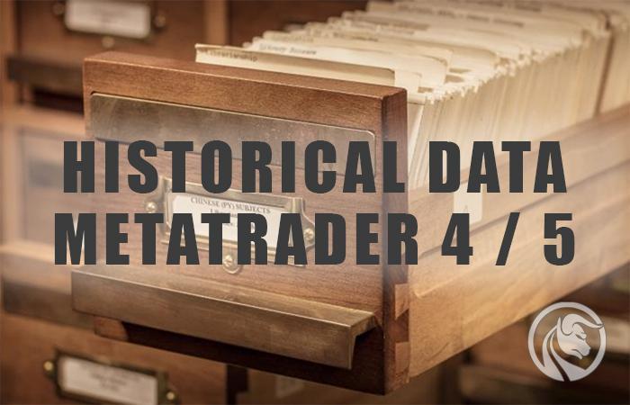 dados históricos do metatrader 4