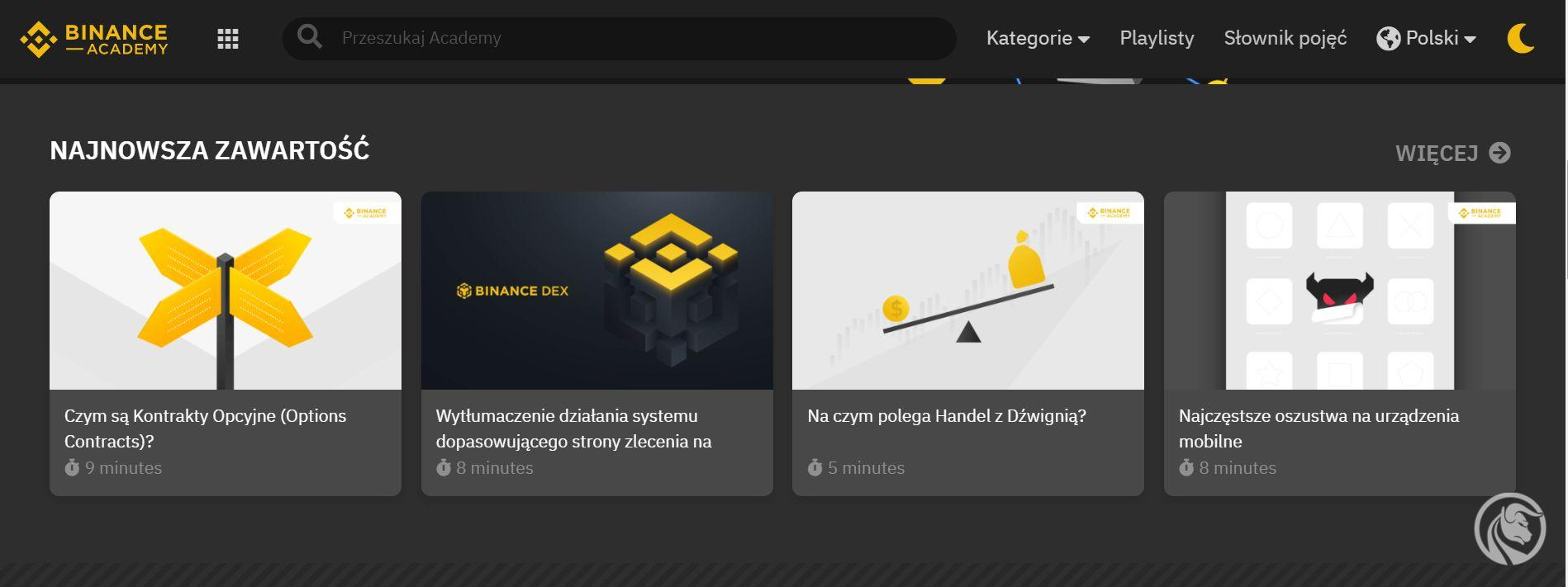 binance academy