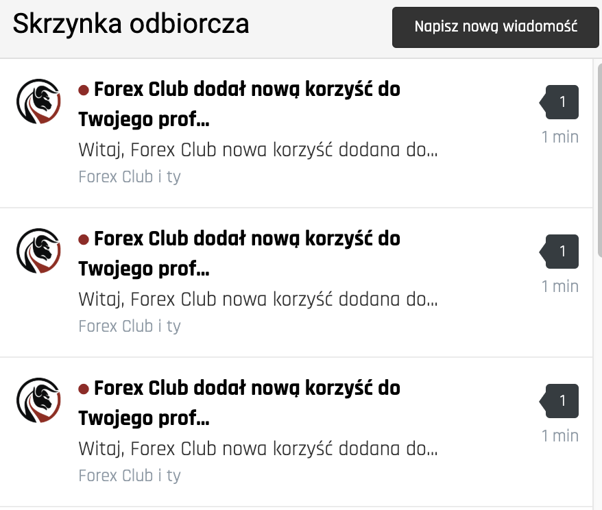 sconti forex club