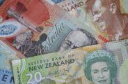 Banconote AUD e NZD