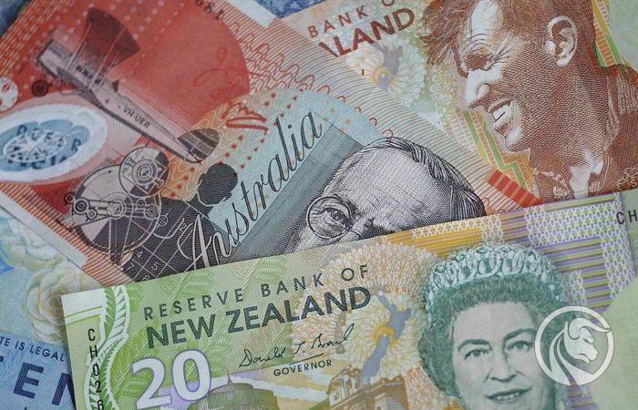 Banknoty AUD i NZD