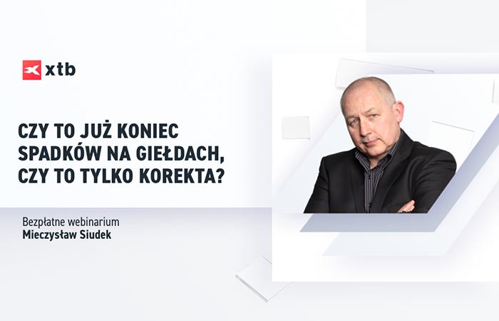 mieczysław siudek webinar forex