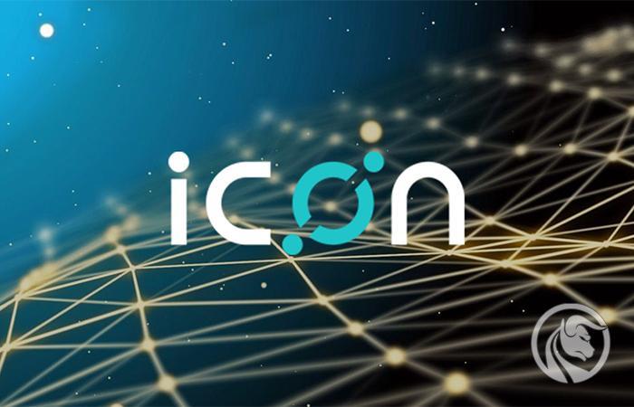 criptomoeda icx ícone