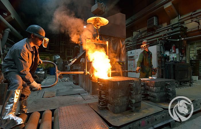 metale przemysłowe analiza