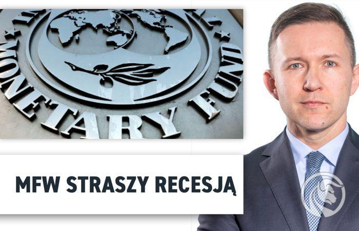 MFW straszy recesją