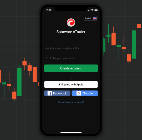 ctrader mobile apple ios