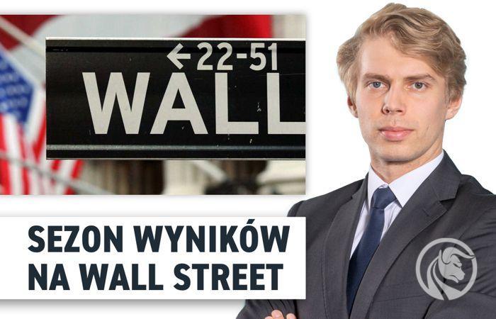 Sezon wynikow na Wall Street