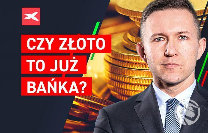 cena złota xtb