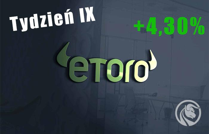 eToro test tydzien 9