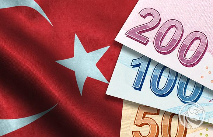 Trocas de liras turcas
