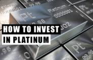 platina como investir