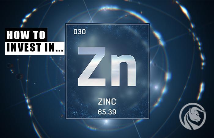 como investir em zinco