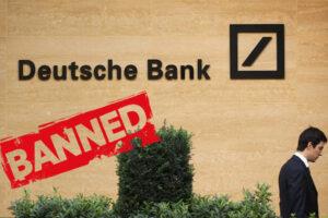 deutsche bank tajwan ban