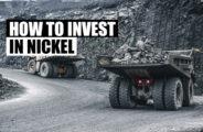 como investir em níquel