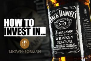 ações brown & forman jack daniels