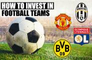 como investir em clubes de futebol