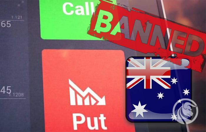 opcje binarne australia zbanowane