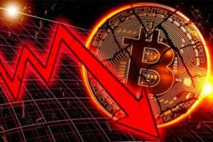 o mercado de criptomoedas bitcoin está em declínio
