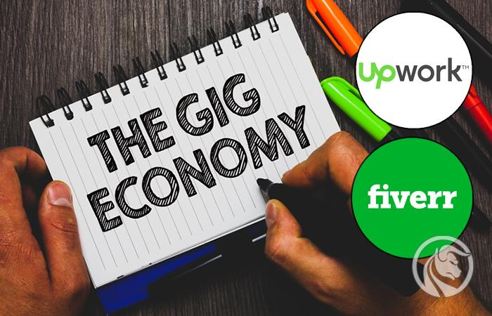 Gig Economy upwork fiverr