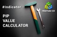 Pip value calculator, MT4, MT5