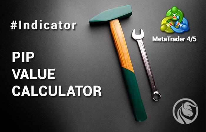 Calculadora de valor de pip, MT4, MT5