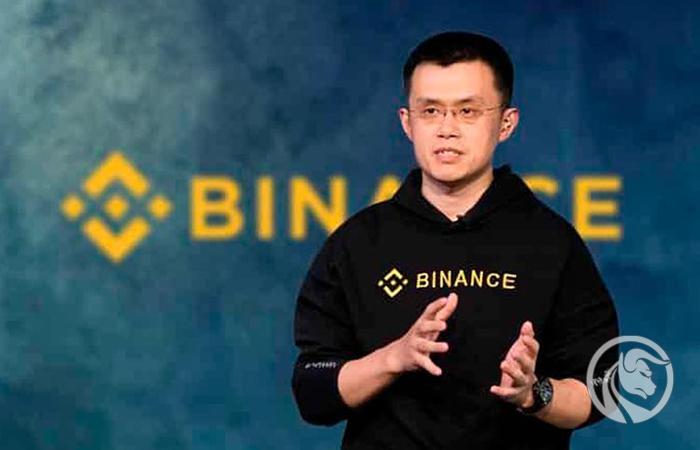 Carta binance Changpeng Zhao