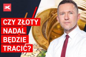 O zloty continuará a perder