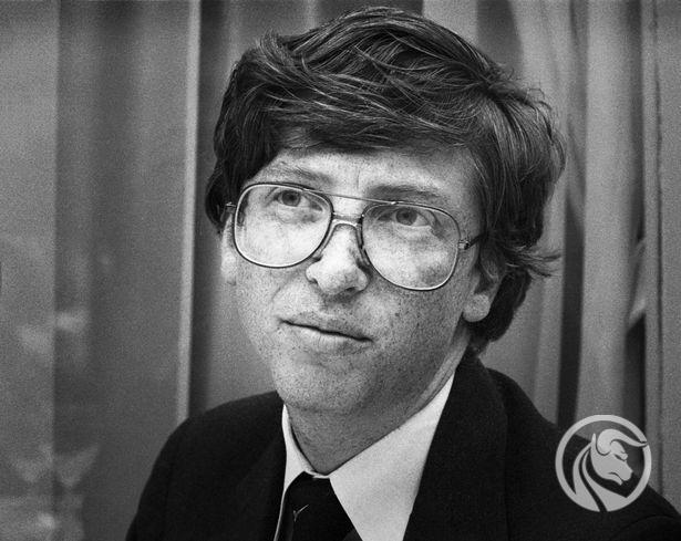 młody Bill Gates