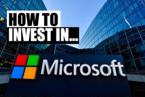 jak inwestować w akcje microsoft