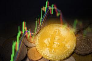 Bitcoin - wykres, spadki