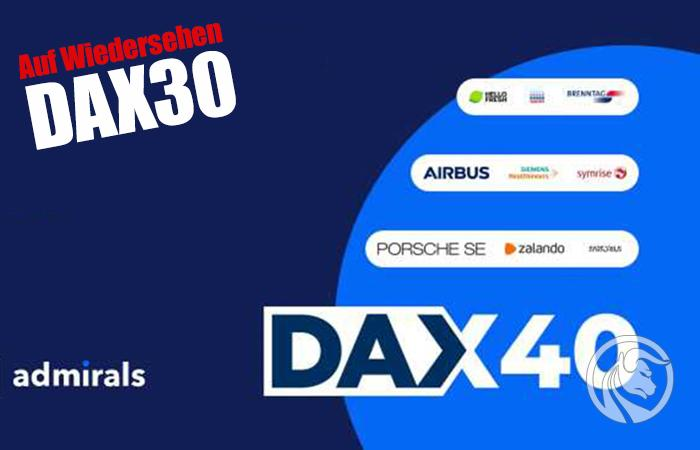 dax40 zastąpi dax30