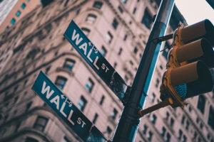 wyniki wall street